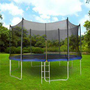 Putting resources into a fun trampoline for the garden